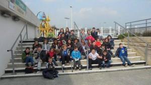 Des élèves d'Anne Leroy visitent oceanopolis
