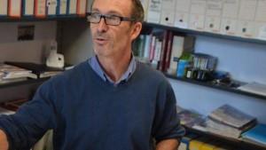 Jean-François Ollivier, directeur de l'école Anne-Leroy